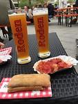 Curry Wurst met Bier