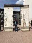 De muur Berlijn en Berend