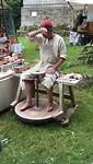 Pottenbakker tijdens de Collis Clamat