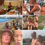 familiedag met Geert en Marleen en de kinderen