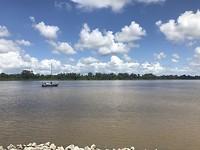 Domburg! Suriname rivier.