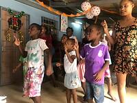 De kinderen een dans geleerd .
