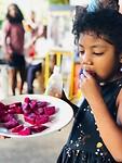 Dragonfruit eten voor het eerst