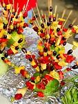 Fruitsticks gemaakt