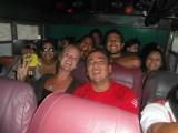 Gisteren in de bus van Choroni naar Maracay. Een wilde tocht met luide salsa muziek . Good fun.