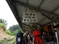 Aankomst in Ella