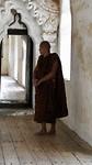 Een Thaise monnik in Myanmar
