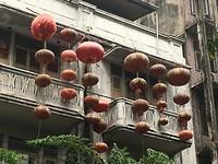 Vergane glorie in Chinatown Bangkok.