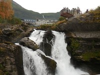 Waterval in Geiranger