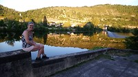 Cahors, avondwandeling langs de Lot