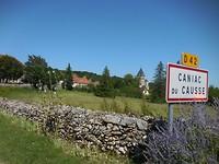 Rondrit langs Caniac du Causse