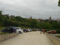Vezelay boven op de heuvel