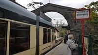 De Pöstlingbergbahn in Linz