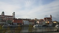 Einde van de cruise in Passau