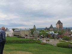 Uitzicht over Quebec