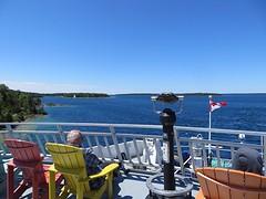 Onze cruise naar Manitoulin