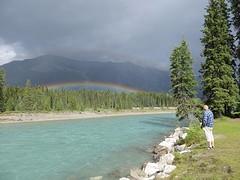 Regenboog  in Kootenay