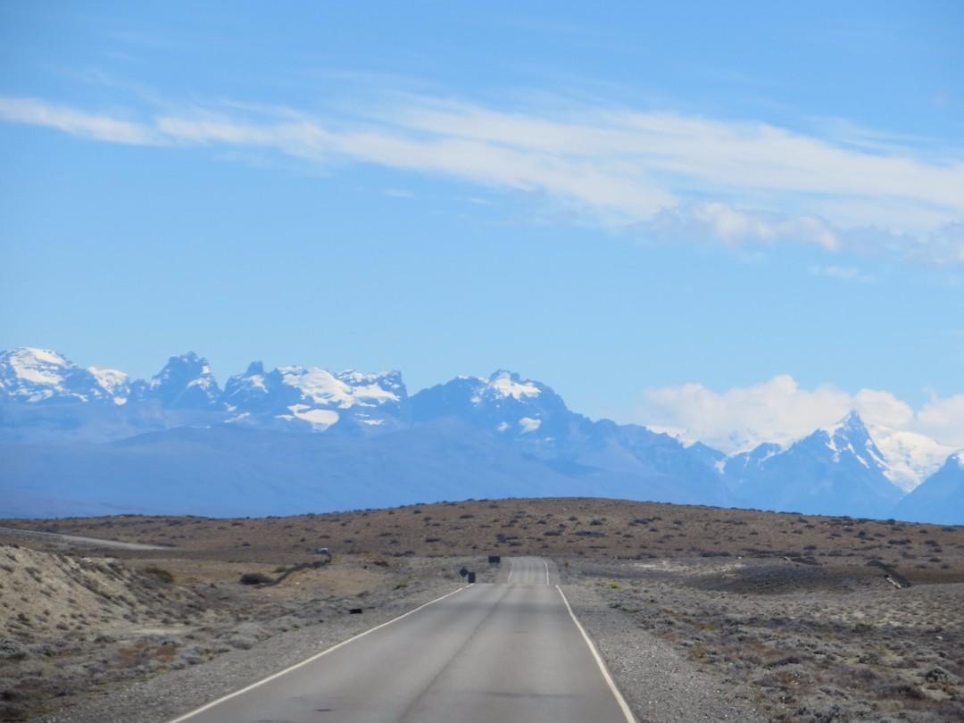 De Andes komen weer in zicht