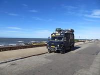 een 'rustige' straat in Montevideo