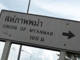 26/10. 100 mtr. naar Myanmar.