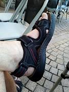 Nieuwe sandalen