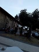 Avond in een Baskisch dorp