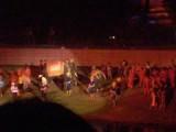 Lichtshow in Ayutthaya in de schaduw van de Mahathattempel : wow