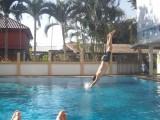 Zwemmen in ons guesthouse