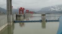 De stuwdam in de Yangtze