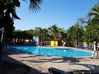 Zwembad van het hotel