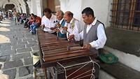 Marimba spelers