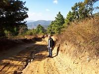 Van Namo Buddha naar Panauti