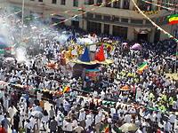 Timkat processie