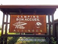 De camping van vandaag
