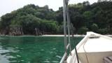 Aankomst op Palau Kapas