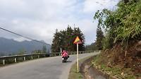 De op één na meest voorkomend verkeersbord in Vietnam