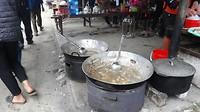 De soep is klaar (markt Bac Ha)