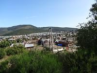 Sloppenwijk nabij Bareloche.