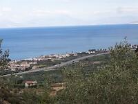 Zicht op Sykia Greece