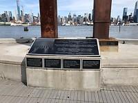 Memorial 911 - overblijfselen van de gevel Twin Towers