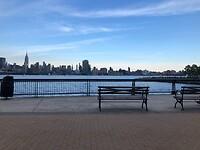 Maxwell Place Park - Hudson bankje