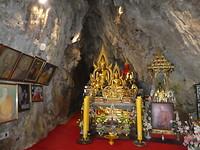 Chiang Mai (Wat Tham Pha Plong, in de tempel)