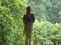 Chiang Mai (Wat Tham Pha Plong, Lara voor de tempel)