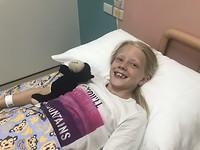 Surat Thani (Lara kon weer lachen in het ziekenhuis)