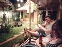 Onze eerste avond in Chiang Mai :-)