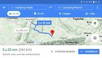 Route Munchen