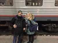 Yekaterinburg station met Thomas