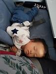 Lekker slapen in het vliegtuig (1)