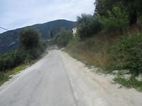 Crossen richting Korfoe