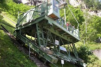 Lärchwand inclined lift